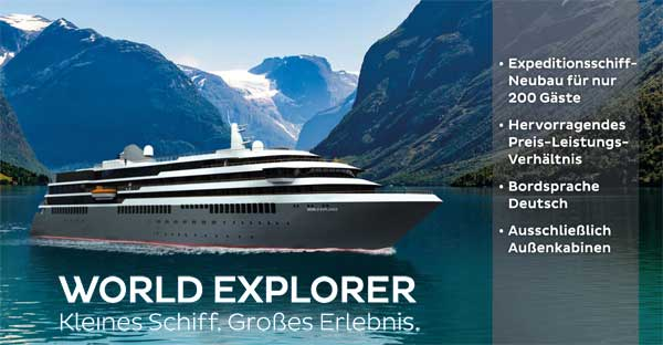 WORLD EXPLORER - Expeditionsschiff von nicko cruises