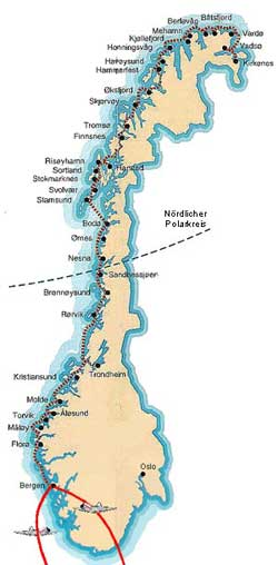 Karte Norwegen Hurtigruten.Hurtigruten Reisen 12 Tage Mit Flug