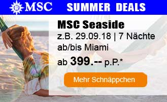 MSC summer deals
