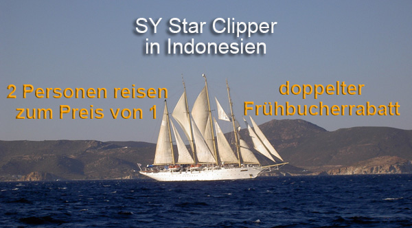 Star Clipper Indonesien